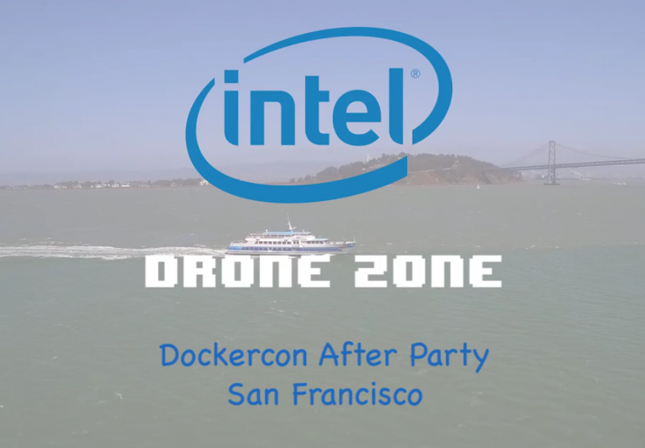DOCKERCON AFTERPARTY DRONE ZONE