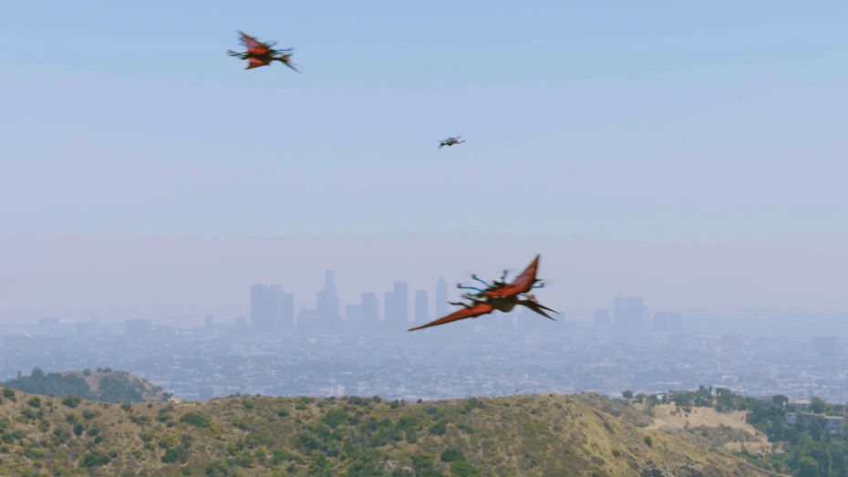 Jurassic World Drones / L A Drones