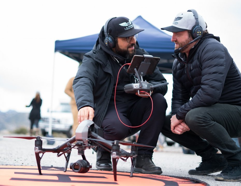 L.A Drones | Live Broadcast | Aerial Cinema | Live Production Drones
