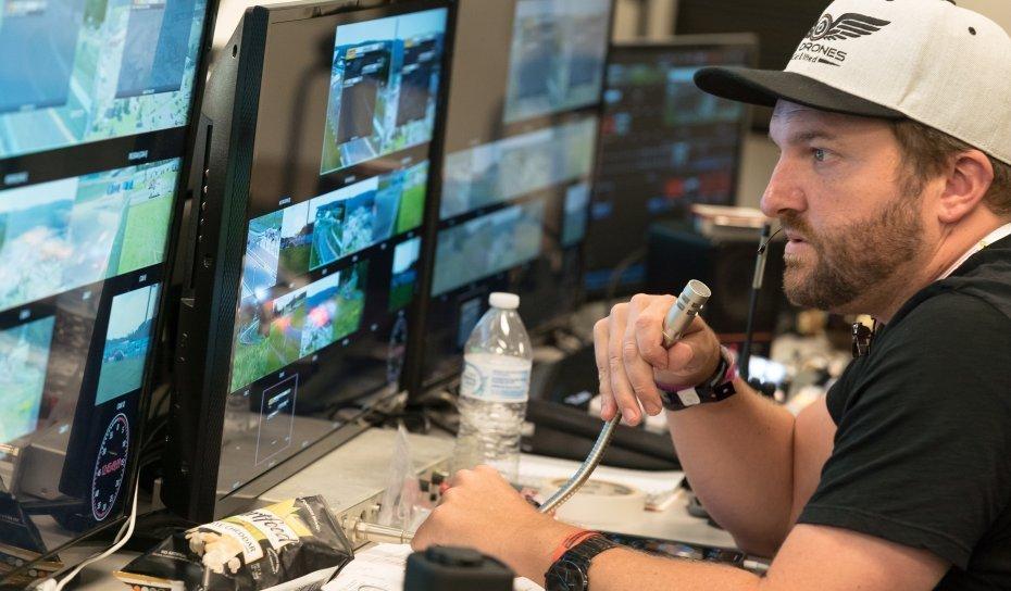 L.A Drones | Live Broadcast | Aerial Cinema | Live Production Drones