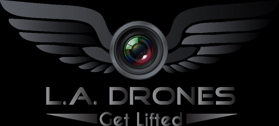 L. A, Drones logo