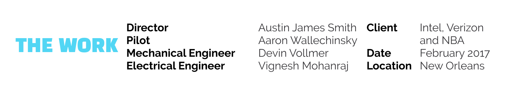 LAD creators Dunk Drone 2017